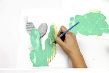 maalaus ideaa sisustus