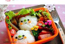 Cute little bentos - Foods!! ^.^