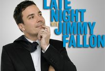 Jimmy Fallon and Late Night / by Kim Eberhardt