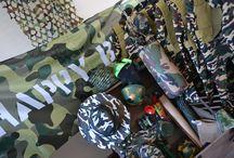 Themakist Leger / Voorwaarts..... MARS!  Altijd al een leger feestje willen geven? Met deze themakist wordt dat zeker weten een succes.