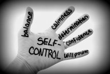 "Self-control / ""Like a city whose walls are broken through is a person who lacks self-control."" Proverbs 25:28"