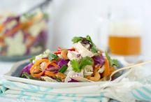 eat yourself skinny - salads