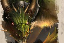 Dragons / Pretty self-explanatory.