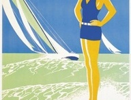 Posters & Prints / vintage and art deco posters, woodcuts and lino prints / by Ruth MacMillan