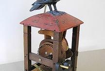 Svarta fåglar ... / Korpar, kråkor, kajor, en och annan koltrast och självklart skator!