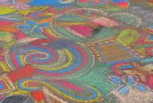 Chalk Art Tips / A collection of tips and tutorials on creating art with chalk.