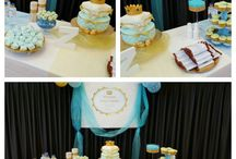 little prince christening party / Little prince themed christening party
