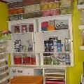 Place to Create & Craft Storage Ideas / ideas for storing crafts, displaying, work space for crafts drawing sewing whatever you need space to do / by Jm Monroe
