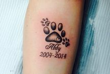 Pawprint tatto