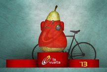 La Vuelta Ciclista a España / La DOP Peras de Rincón de Soto. Patrocinador oficial de La Vuelta Ciclista a España