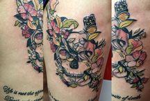 Mis tatuajes / Marcas personales para toda la vida...