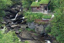 cabane în natură