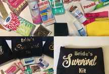 Bridal Survival Kits & Bridal Giftwares