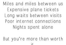 Long Distance Relationship / It's all about Long Distance Relationship.