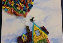 Disney quilling ideas