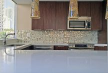 Kitchen design / This is a collection of different kitchen designs using different materials in different styles. Kitchens can be made from scratch or new counter tops can be placed on top of existing counters.