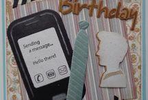 Telefoon creatable kaarten