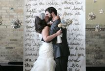 Wedding backdrops / public