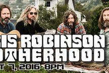 """CHRIS ROBINSON BROTHERHOOD at The Newton Theatre / The Chris Robinson Brotherhood made an immediate impact upon their boldly unconventional debut in early 2011. Since then they've continued to develop their identity as a self-defined """"farm to table psychedelic rock band"""". This band is all about musical freedom, dissolving boundaries and a good ole' Saturday night boogie."""