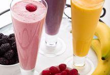 vitaminas e sucos detox