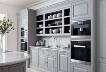 Luxury Kitchens - Tom Howley Curved Grey