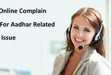 Aadhar Card Complain