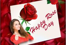 Rose Day Photo Frames