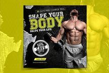 Gym Instagram Banner (Shape your Life)