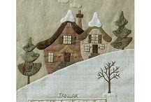 Carpeta de patchwork