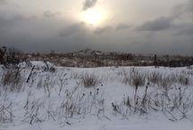 January 2014 SNOW in Brigantine / The 2014 new year bought around 8 inches of snow to Brigantine Beach ....