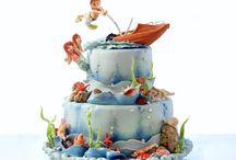 Cakes: Sea and Beach