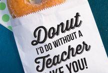 teacher gifts / by Francesca Delisle
