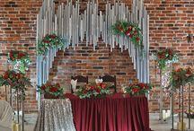 ślub - ścianka