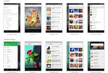 Mobile / Tablet UI