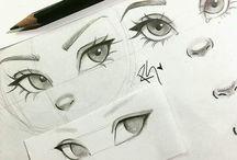 woman eyes