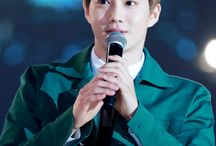 Suho Green Suit