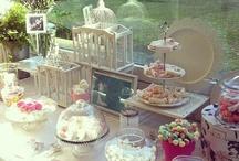 mesas dulces! / diferentes formas de montar, originales y preciosas, mesas de chuches y dulces.