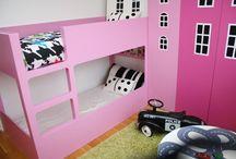 Girls room ideas / by Steph Harris