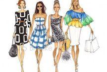 Fashion sketcth