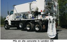 Mix On Site Concrete