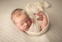 Newborn Wrapped Pose