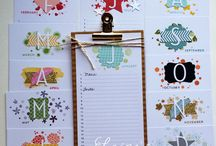 Stampin Up - Perpetual Birthday Calendar