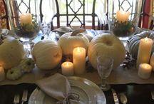 Holiday decor using natural items / by Belinda Stuetelberg