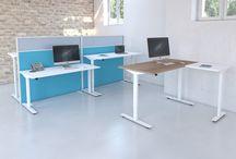 Our range of office desks / http://www.bevlan.com/products/office-desks/