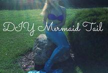 mermaid costume / by Maggie Norkunas