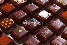 Chocolates /  Truffas y algunas otras de nuestras delicias de chocolate. Elaboradas de manera artesanal y con ingredientes de la mas alta calidad.
