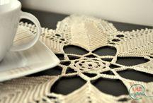 Tablecloths - crochet (Serwetki na szydełku) / Wzory na szydełkowe serwetki.