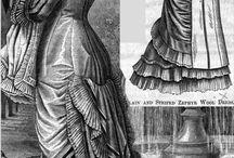 Natural Form Era Fashion - 1877 to 1883