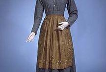 Victorian servant attires