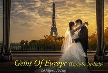 Paris Switzerland Italy Honeymoon Packages